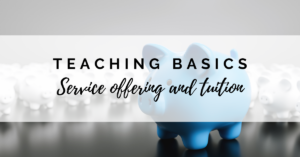 Service Offering and Tuition